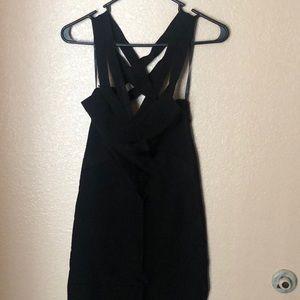 Bebe Black Bandage Dress